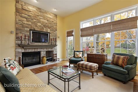 15 Living Room Design Ideas With Fireplace And Tv