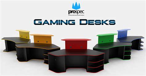 gaming desks e shop prospec designs