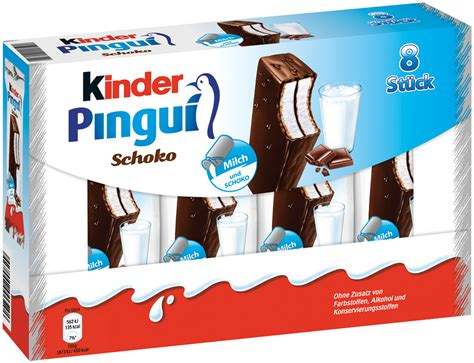 Kinder Pingui Choco 8 Pack