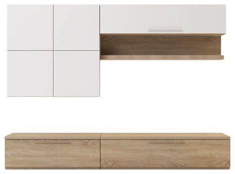 isola tv meuble tv avec 233 l 233 ments muraux et banc