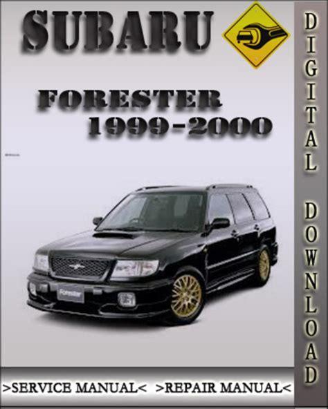 service manuals schematics 1999 subaru forester user handbook 1999 2000 subaru forester factory service repair manual download