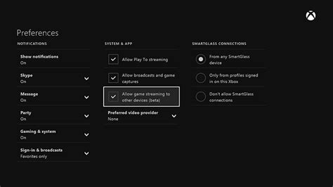 use surface device as a second remote screen to play xbox