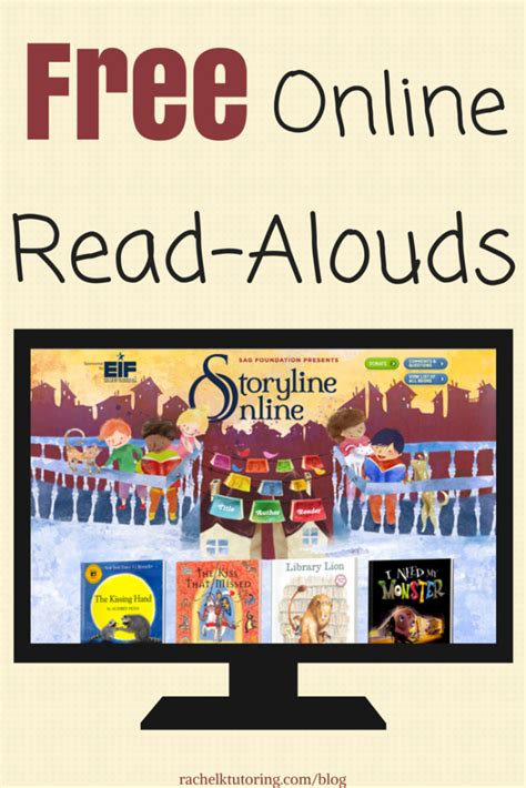 Websites Who To Read by Free Read Alouds K Tutoring