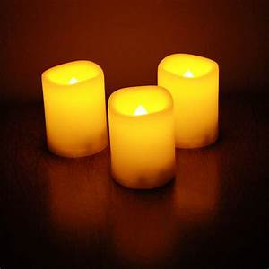 Three, Yellow, Candles, Picture