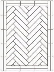 6 x 24 tile herringbones patterns