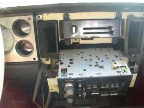 chevy  radio removal youtube