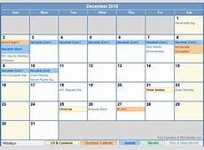 September 2018 Calendar With Holidays calendar yearly