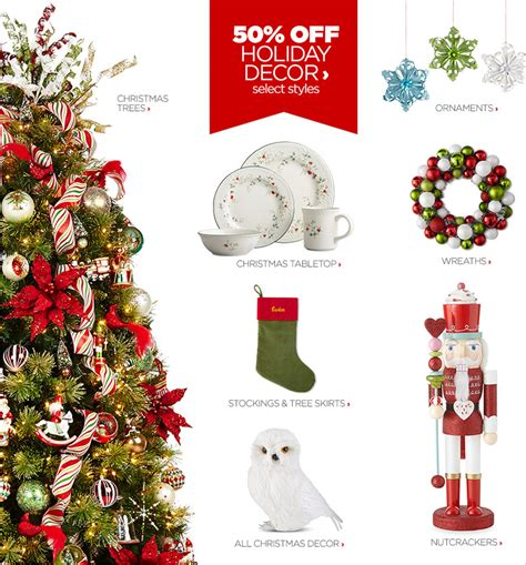 jcpenney christmas ornaments decor shop decorations jcpenney