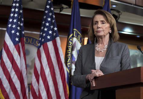 Top Democrat Nancy Pelosi Says 'i've Got To Stay' To