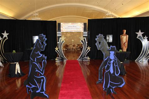Hollywood Themed Party  Bluming Creativity