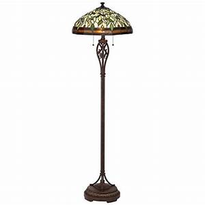 leaf and vine ii tiffany style floor lamp 8j045 With floor lamp with vines