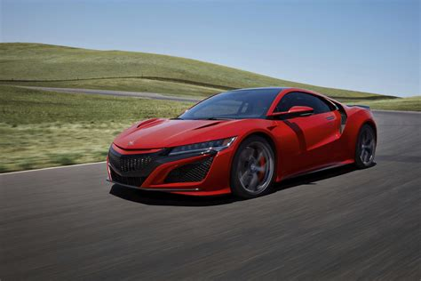 2019 acura nsx top speed