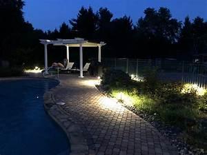 Solar Pergola Lights Pool Area Lighting Ideas Cool Ways To Put Lighting