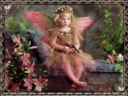 Fairy Pink Animated Background Wallpapers Fairies Angels