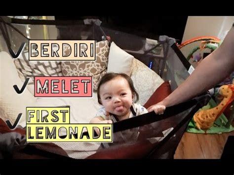 Vlog #116  Bayi 6 Bulan Berdiri, Suka Melet, & First