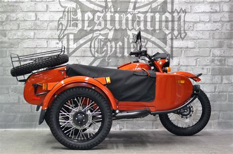 Ural Gear Up Image by 2018 Ural Gear Up Terracotta Metallic Sold