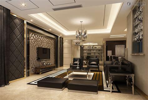 Living Room Led Background Wall Design Tv Cabinet