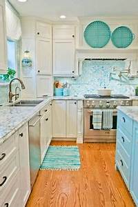 1000 ideas about turquoise kitchen on pinterest With kitchen colors with white cabinets with cherry blossom wall art set 3
