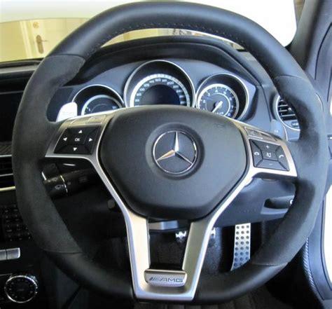 amg sport steering wheel trim diy part  mbworldorg