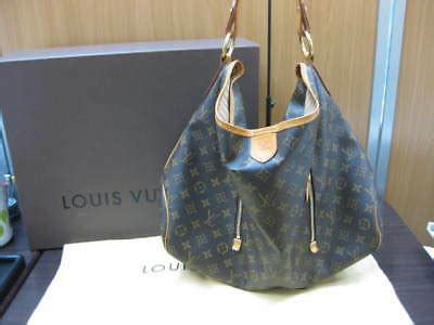 louis vuitton  monogram delightful gm shoulder hand tote bag wbox ebay