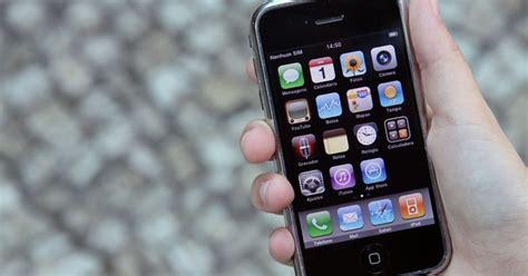 de volta ao passado como seria usar  primeiro iphone em  artigos techtudo