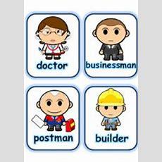 English Worksheets Flashcard Set 8  Jobs Part 2 Of 3 (130808