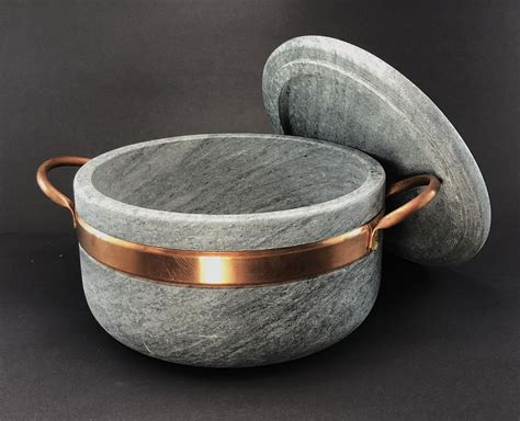 Soapstone Cookware by 4l Pot W Vent Gian Carlo Stoneworks