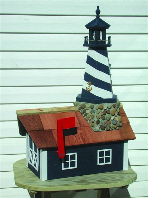 cape hatteras lighthouse mailbox  dutchcrafters