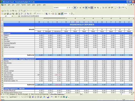 free finance spreadsheet free printable budget templates budget template sample