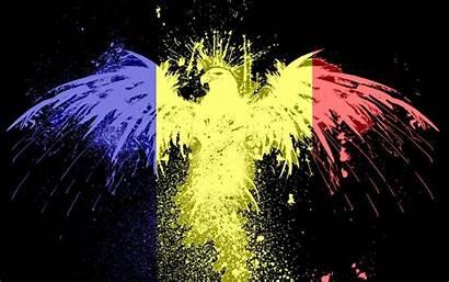 Romania Flag Desktop Wallpapers Romanian 4k Mixed