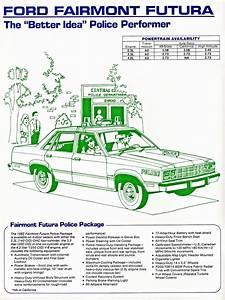 1982 Ford Fairmont Police Car