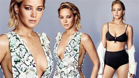 Jennifer Lawrence Hot Photoshoot For Glamour Magazine 2016