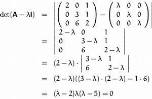 Eigenwert Matrix Berechnen : wie berechnet man eigenvektoren ~ Themetempest.com Abrechnung