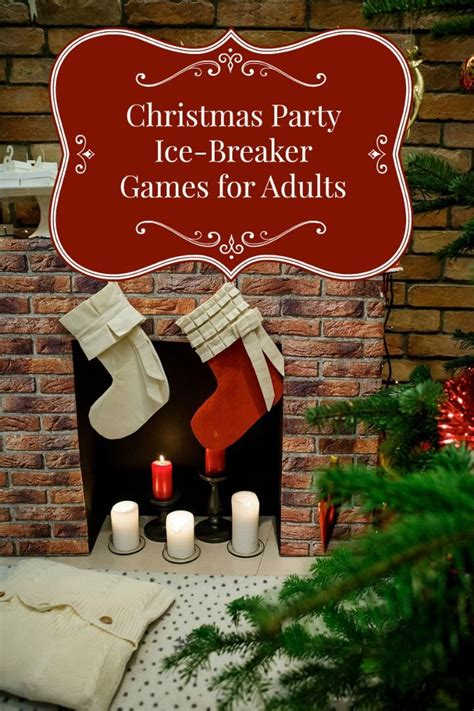 christmas ice breakers breaker for adults