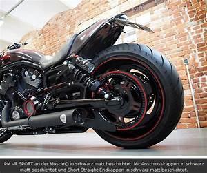 Harley Davidson Auspuff : penzl auspuff set mit soundverstellung und abe v rod ~ Jslefanu.com Haus und Dekorationen