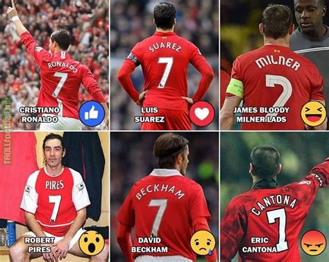 Best Red Number 7?  Troll Football