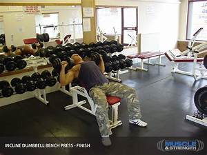 Incline Dumbbell Bench Press Video Exercise Guide  U0026 Tips