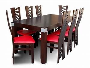 Table salle a manger avec 8 chaises tables salle a for Meuble salle À manger avec chaise design pour table a manger