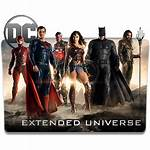 Folder Icon Dc Universe Extended Icons Cinematic