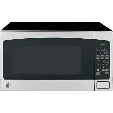 ge countertop microwave ge appliances jes2051snss 2 0 cu ft countertop microwave