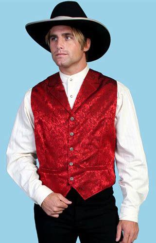 wah maker silk floral vest red mens  west vests