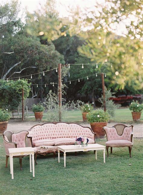 reception decor  pink tufted wedding lounge area