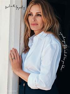 JULIA ROBERTS for Harper's Bazaar Magazine, November 2017 ...