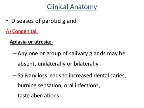 Parotid Gland Swelling After Surgery
