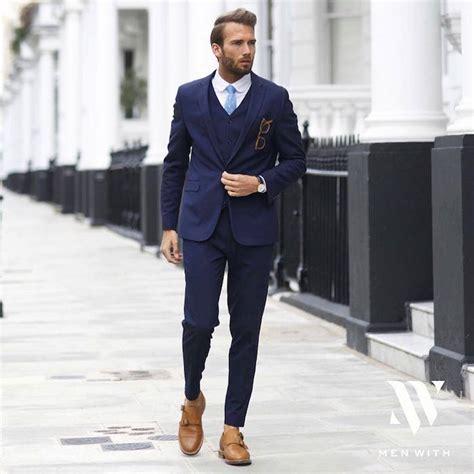 costume bleu chaussure marron 1001 id 233 es le costume bleu marine homme 233 l 233 gance et sobri 233 t 233