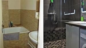Salle De Bain 3m2 : petite salle de bain 3m2 7 douche italienne douche ~ Dallasstarsshop.com Idées de Décoration