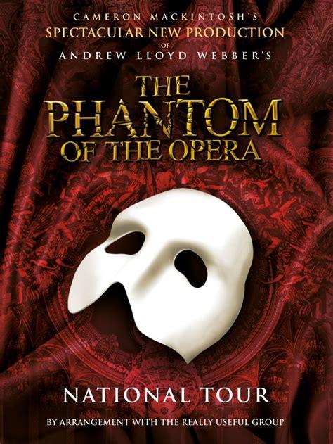 phantom   opera glasgow theatre blog