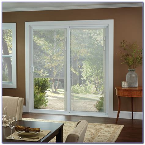 sliding patio doors with built in blinds patio andersen sliding patio doors with built in blinds