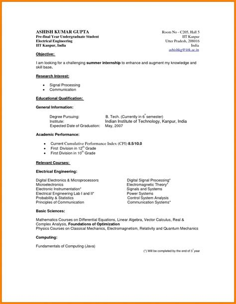 Free resume templates for any job. Undergraduate Sample Resume For Students - BEST RESUME EXAMPLES