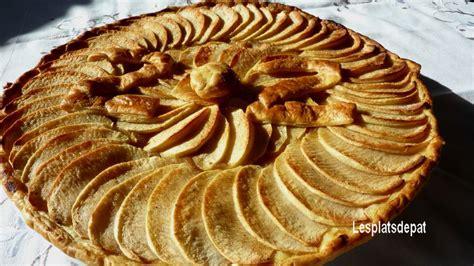 tarte au pomme maison tarte aux pommes maison lesplatsdepat